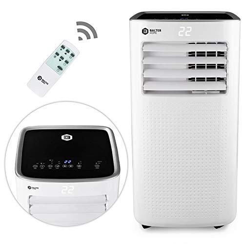 Balter AC-01 mobile Klimaanlage, Klimagerät 4in1, Luftkühler, Heizung, Luftentfeuchter, Ventilator, Räume bis 80 m3, R290, 9.000 BTU/h