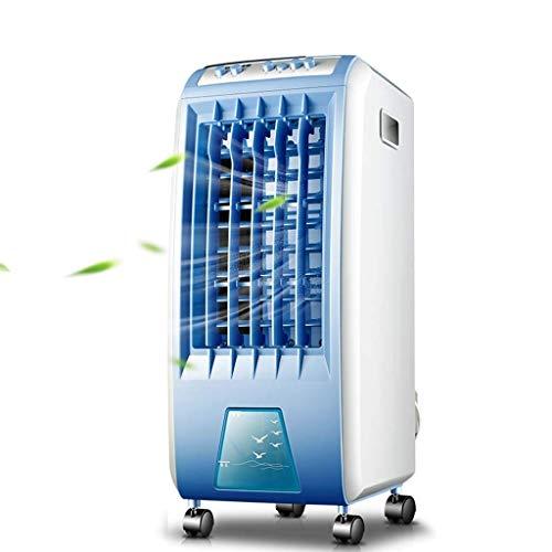 XPfj Mobiles Klimagerät Tragbarer Klimaanlagen-Lüfter, stummer elektrischer Lüfter luftgekühlter mobiler wassergekühlter Luftbefeuchter kleine Klimaanlage für Zuhause oder Büro (Color : -, Size : -)