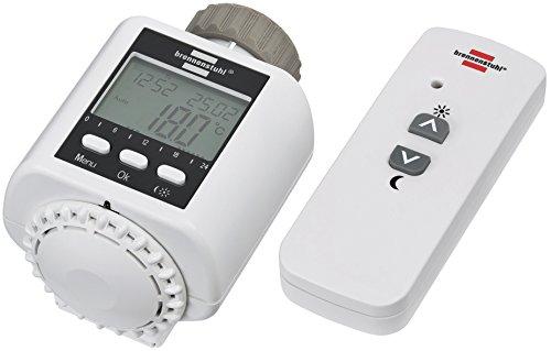 Brennenstuhl Funk-Heizkörperthermostat FHT 433, Heizungsthermostat (per Fernbedienung oder App steuern)