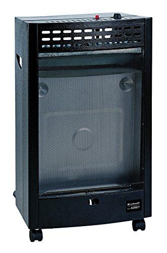 Einhell Blue Flame Gasheizofen BFO 4200/1 (4.200W, 300 g/h Gasverbrauch, Stahlblechgehäuse, Piezozünder, Lenkrollen, inkl. Gasschlauch)