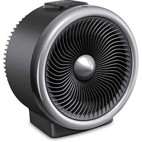 TROTEC 2-in-1 ultrastarker u. leiser Ventilator und Heizlüfter TFH 2000 E 2 Heizstufen max. 2.000 Watt leise Turbospin Wärme 2 Ventilationsstufen