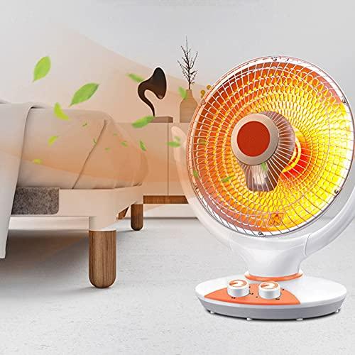 HAPPY-BELT Mini Heizlüfter, Tragbar Heizkörper Mit Überhitzungsschutz, Elektrischer Heizlüfter Mit Automatisches Kopfschütteln, Raumthermostat Für Betrieb Im Büro Wohnzimmer Schlafzimmer