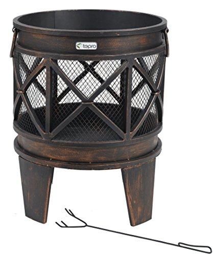 Tepro 1127 'Gracewood' Fire Basket - Bronze (12-Piece)