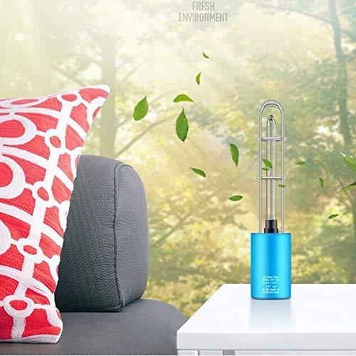 UV-UV-Ozon-Licht-Lampe USB-Lade beweglichen Auto-Home Use, klein, kann zusammen mit dem Ton getragen Werden, und Nicht in Anspruch nimmt keinen Platz im Koffer Huangchuxin (Color : Black)
