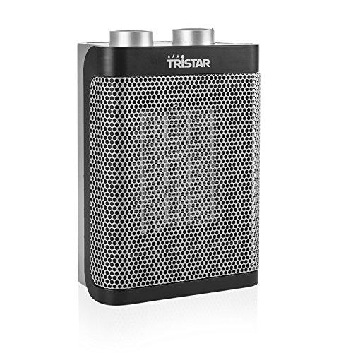 Tristar Keramik Elektroheizlüfter - 3 einstellbare Leistungsstufen/regelbares Heizthermostat/Ventilatorfunktion, KA-5064