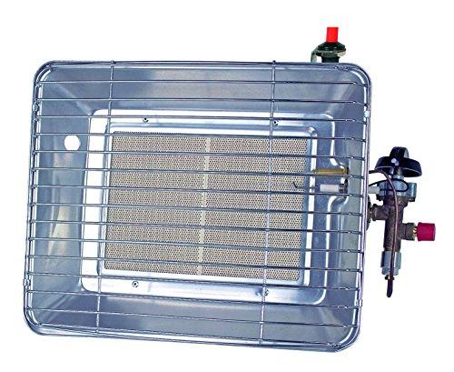 Rothenberger Industrial 035985F Gasheizstrahler mit Piezozündung - Frankreich Version, Grau