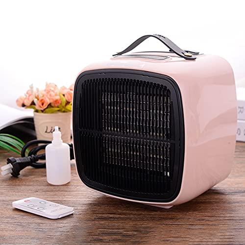 HAPPY-BELT Raumthermostat, Mini Heizung Mit Handhaben, Thermostat Mit Befeuchtungsspray, Schnellheizer Mit Überhitzungsschutz, Tragbar Heizlüfter Mit Fernbedienung