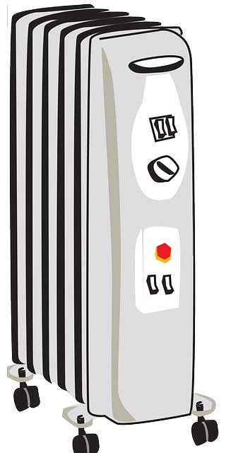 Fahrbare Radiator Heizung